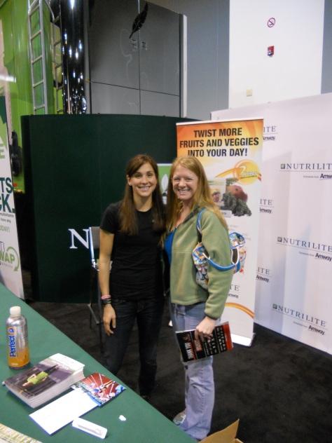 I met Kara Goucher