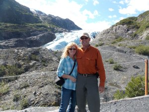 Apparently I don't have a single picture of just my mom, so here's one of her and my dad from their vacation to Alaska. They're cool like that.