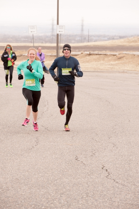 Check out that ridiculous face I'm making. (photo courtesy of runningguru.com)