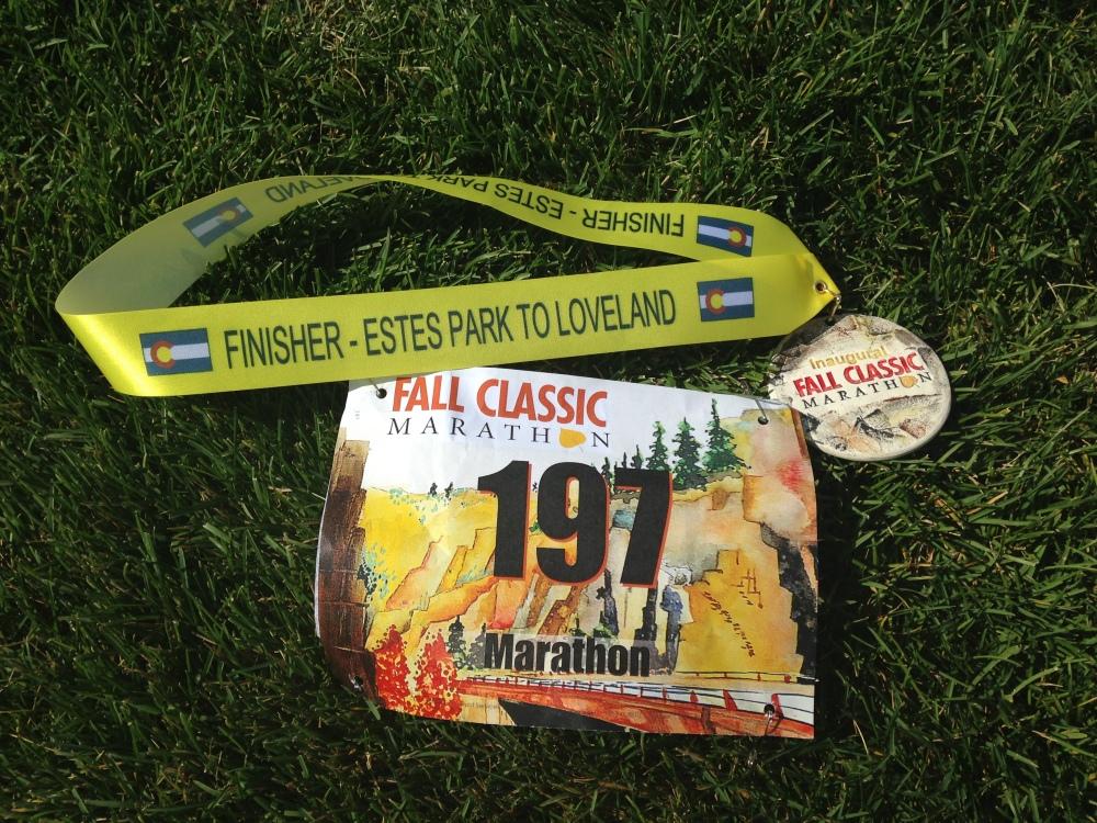 Fall Classic Marathon Recap (6/6)