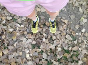 Yay! Crunchy leaves!