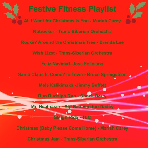 Festive Fitness Playlist