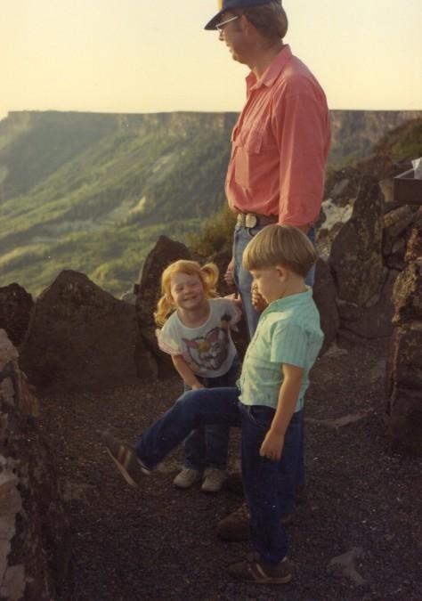 Cass, Terry, Ty Lands End June '88